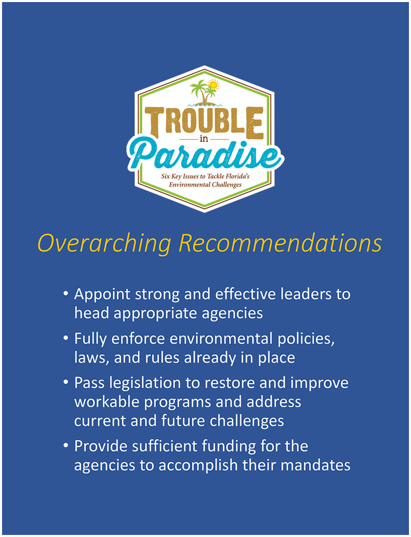 Overarching Recommendations
